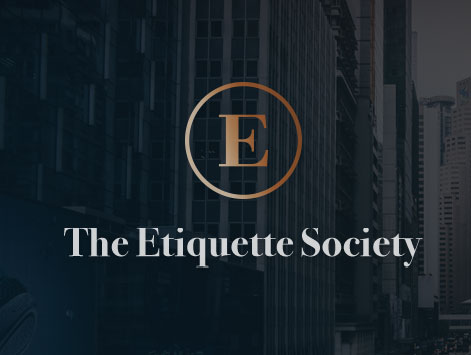 Website created for The Etiquette Society