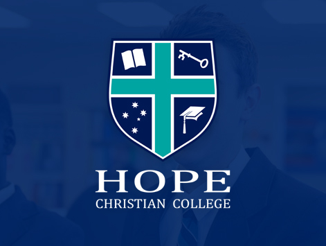 Website developed for Hope Christian College Craigmore